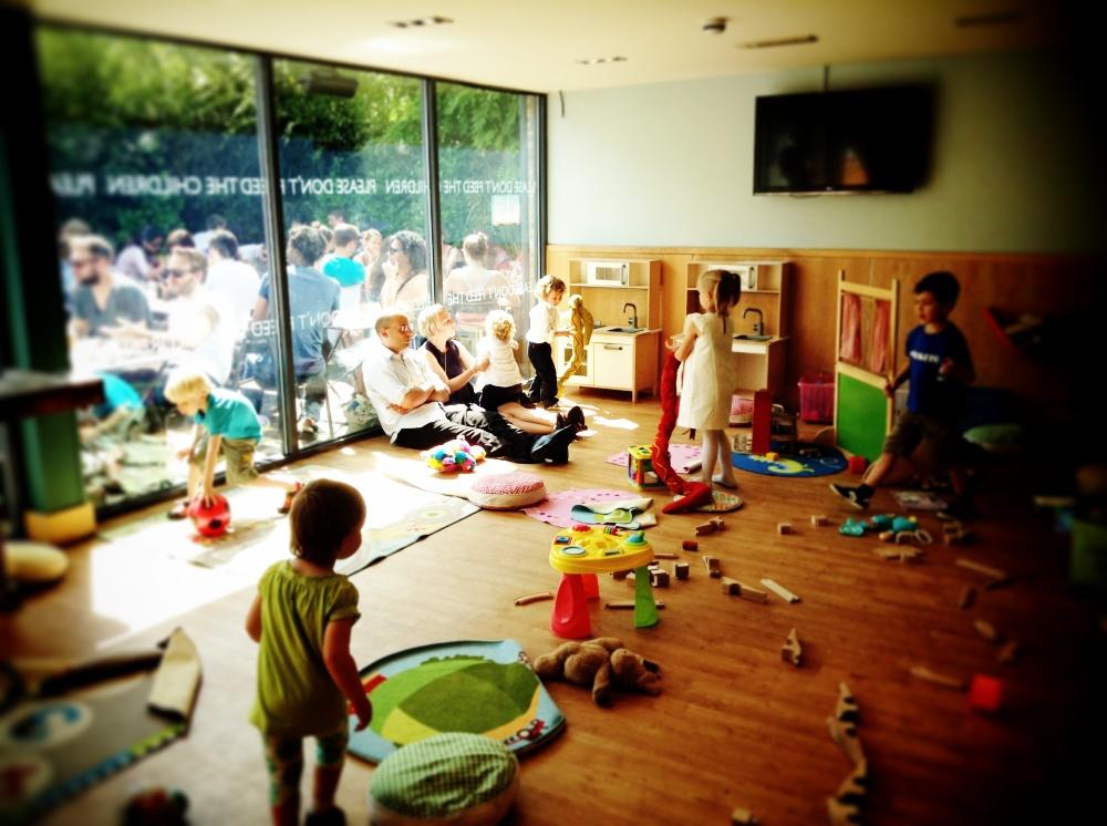 Londra con i bambini un weekend senza fretta family welcome for Sala giochi del garage