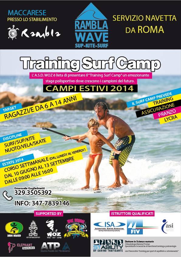 TRAINING SURF CAMP