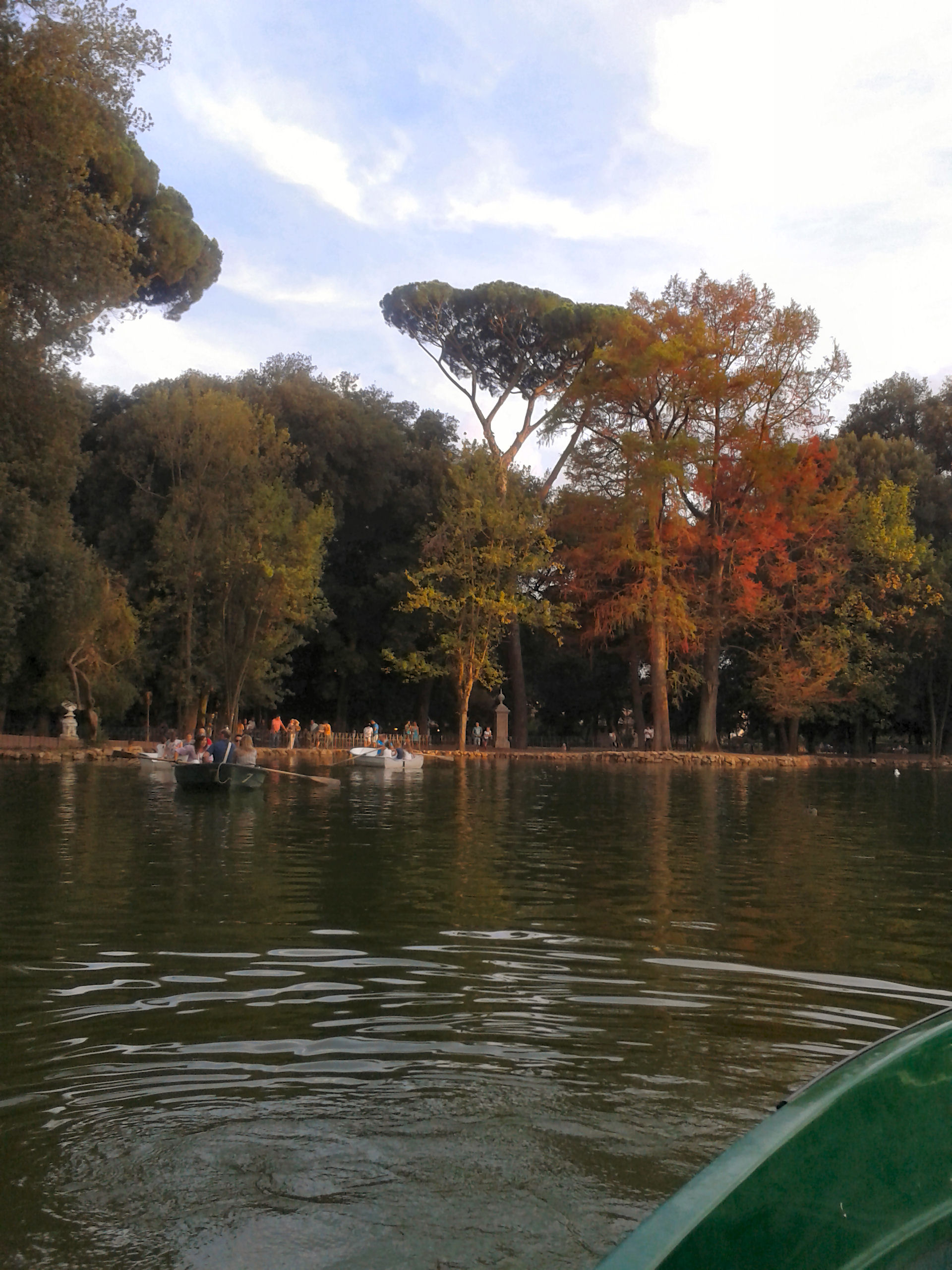 Laghetto Villa Borghese Noleggio Barche