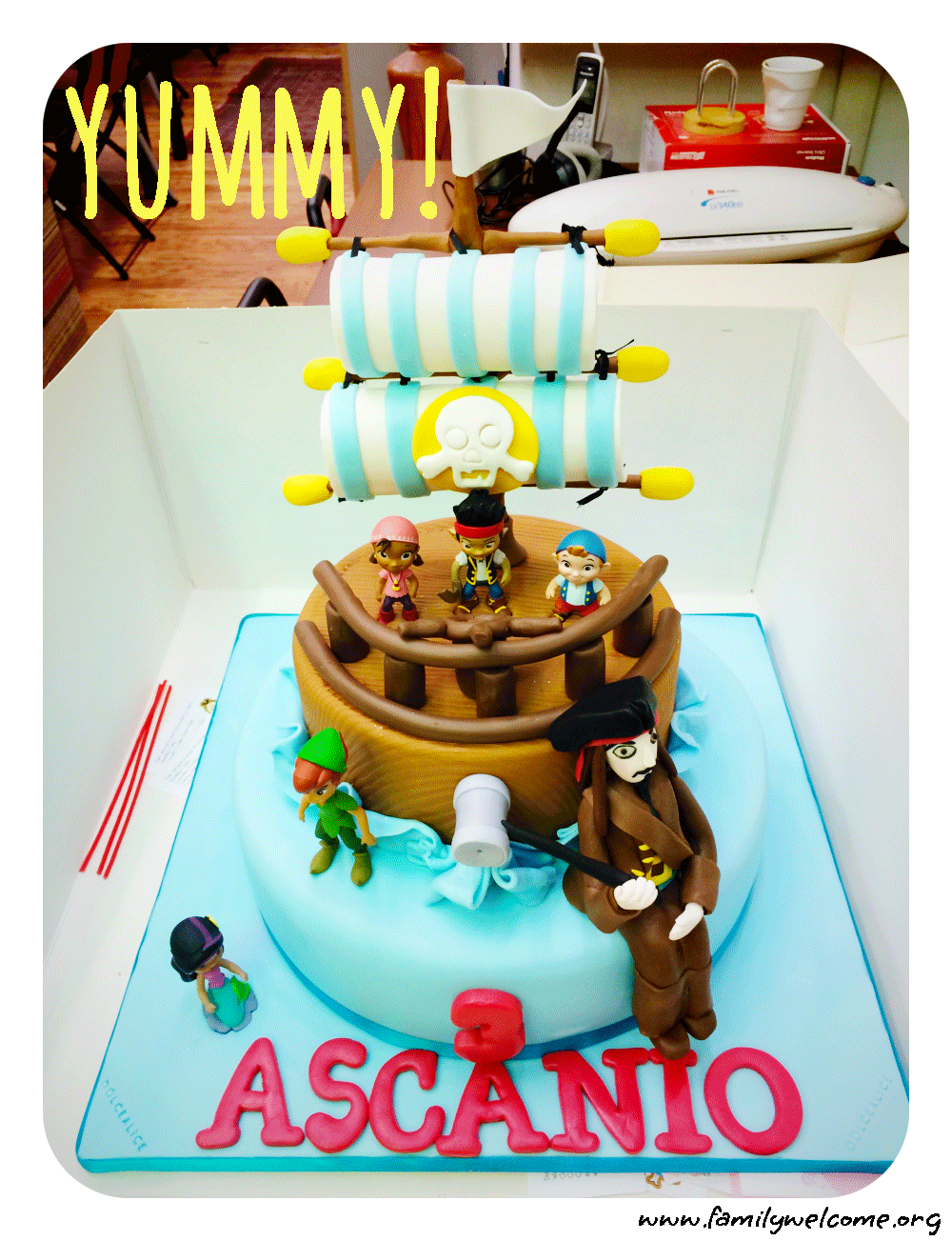 Cake Design Per Bambini Roma : Il Pirata Party per il mio baby boy - Family Welcome